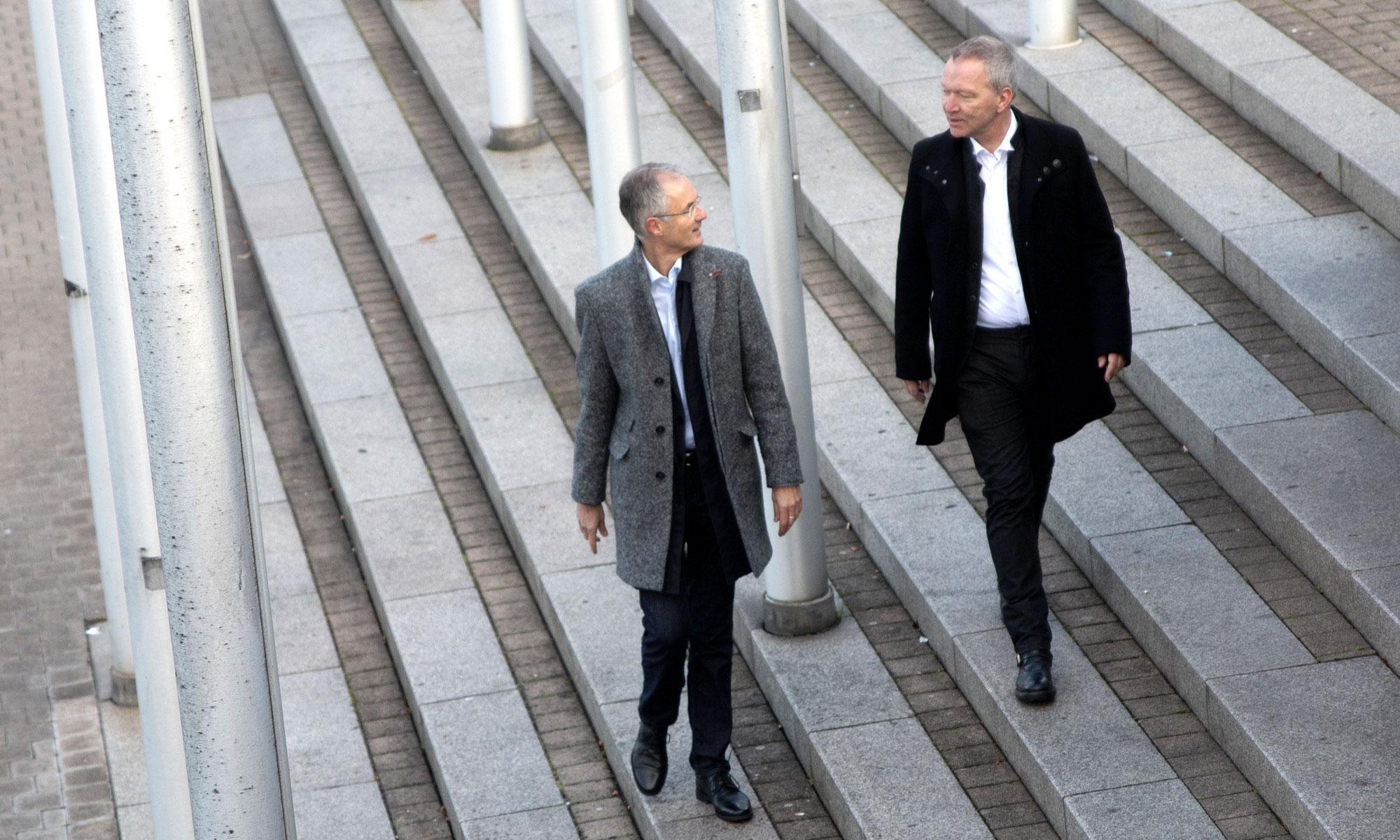 Jürgen Werner und Ulf Tödter, Coaching
